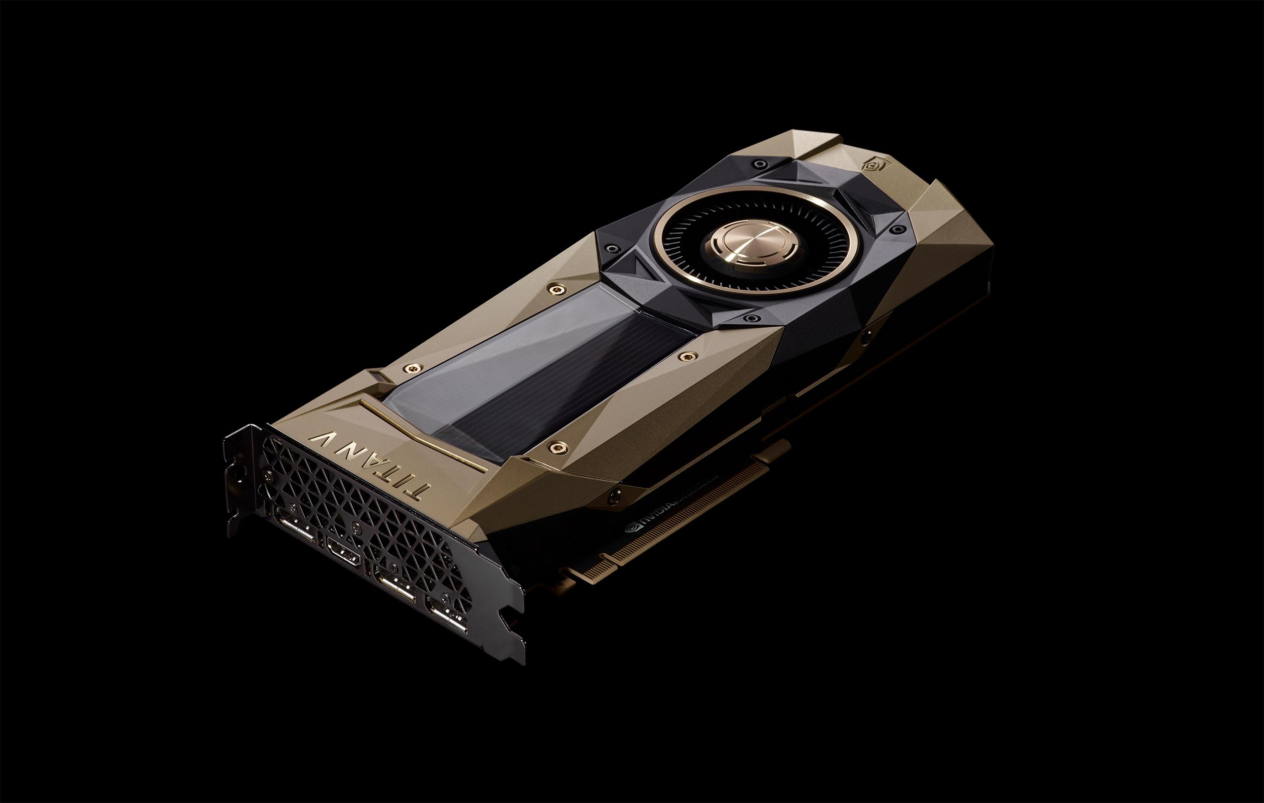 NVIDIA Titan V GPU card